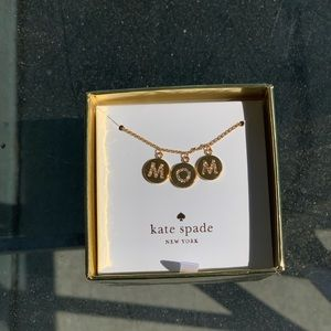 Kate Spade Mom Knows Best MOM necklace!